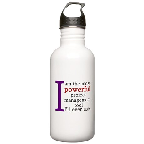 Project Management Tool Stainless Water Bottle 1.0
