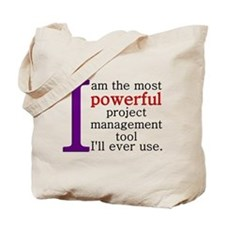 Project Management Tool Tote Bag