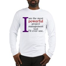 Project Management Tool Long Sleeve T-Shirt