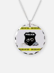 Police Crime Scene Necklace
