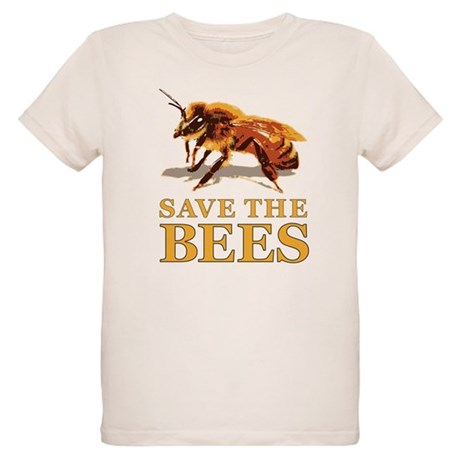 Save The Bees Organic Kids T Shirt Save The Bees T Shirt