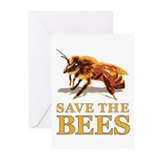 Save The Bees Greeting Cards (Pk of 10)