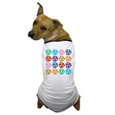 45 RPM Record Adapter Pop Art Dog T-Shirt
