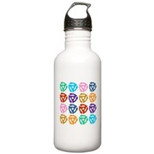 45 RPM Adapter Pop Art Water Bottle