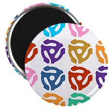 45 RPM Record Adapter Pop Art Magnet