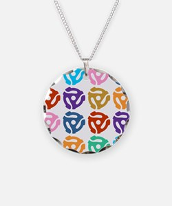 45 RPM Record Adapter Pop Art Necklace