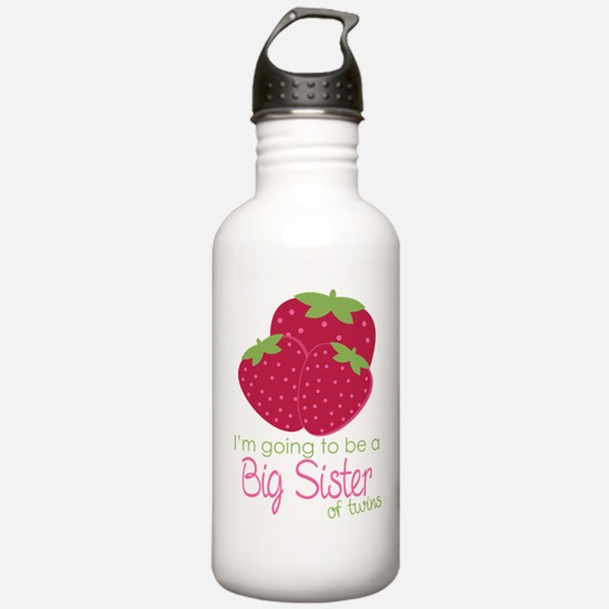 Berry Sister 2Be Twins Water Bottle