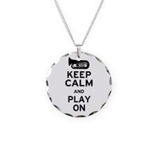 Keep Calm Tuba Necklace