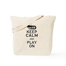 Keep Calm Tuba Tote Bag