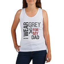 I Wear Grey Dad Women's Tank Top