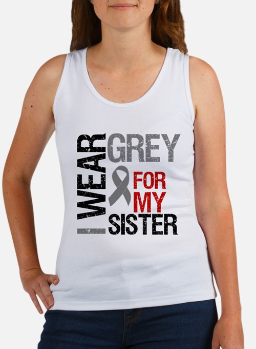I Wear Grey (Sister) Women's Tank Top