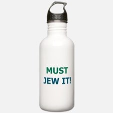 Cute Just jew it Water Bottle