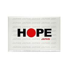 Hope Japan Rectangle Magnet