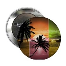 """Summer Sunset 2.25"""" Button"""