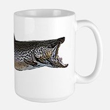 Brown trout Large Mug