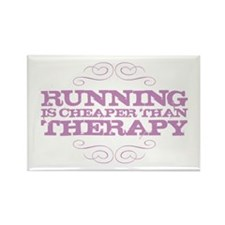 Running is Cheaper than Thera Rectangle Magnet