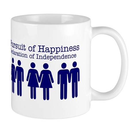 """Life, Liberty, Happiness"" Mug"