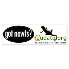 Got newts? Caudata.org Bumper Bumper Sticker