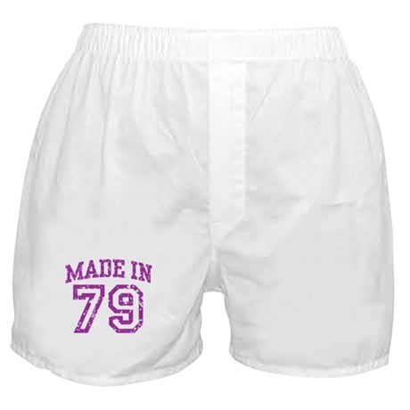 Made in 79 Boxer Shorts