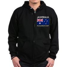 Australian Flag Zip Hoodie