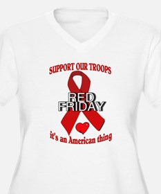 red friday with ribbon T-Shirt