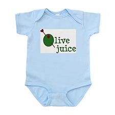 Olive Juice (I Love You) Infant Creeper