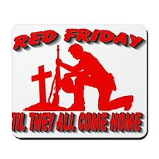 red friday prayer Mousepad