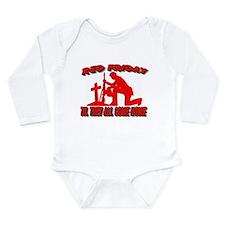 red friday prayer Long Sleeve Infant Bodysuit