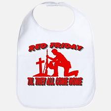 red friday prayer Bib