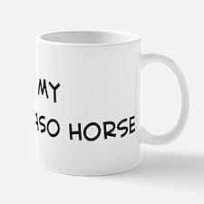 I Love Peruvian Paso Horse Mug