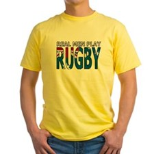 Real Men Rugby australia T