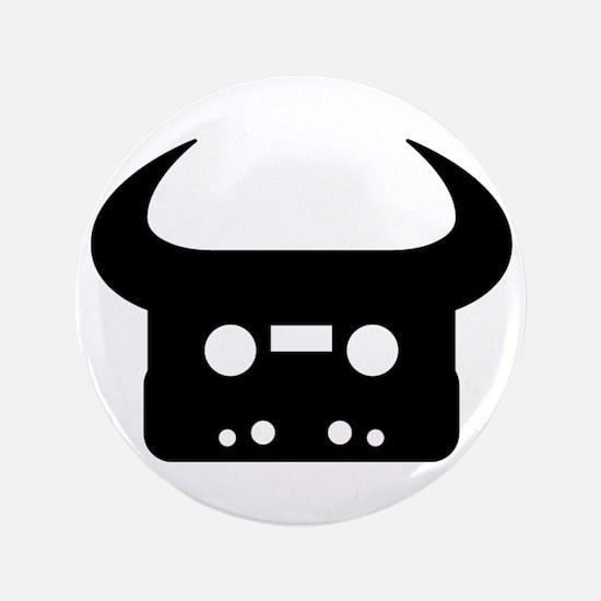 "Cute Tape 3.5"" Button (100 pack)"