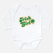 Irish Girl Long Sleeve Infant Bodysuit