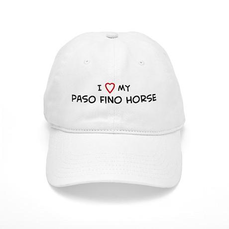 I Love Paso Fino Horse Cap