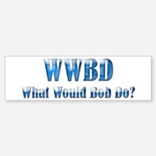 WWBD Bumper Bumper Bumper Sticker