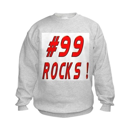 99 Rocks ! Kids Sweatshirt