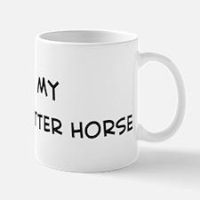 I Love Orlov Trotter Horse Mug