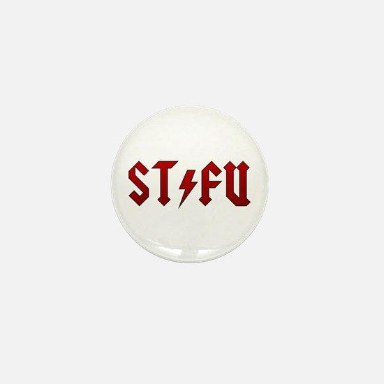AC/DC STFU Mini Button