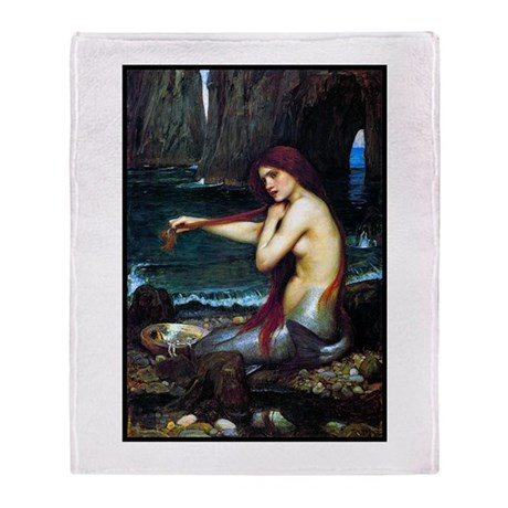 Best Seller Merrow Mermaid Throw Blanket