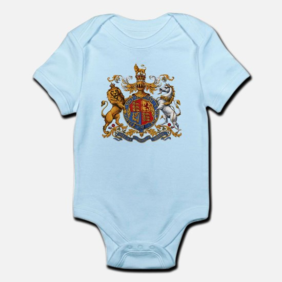 British Royal Coat of Arms Body Suit