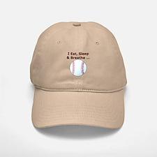 Eat, Sleep, Breathe Baseball Baseball Baseball Cap