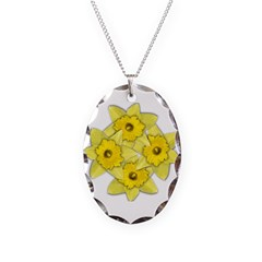 Yellow daffodils Necklace