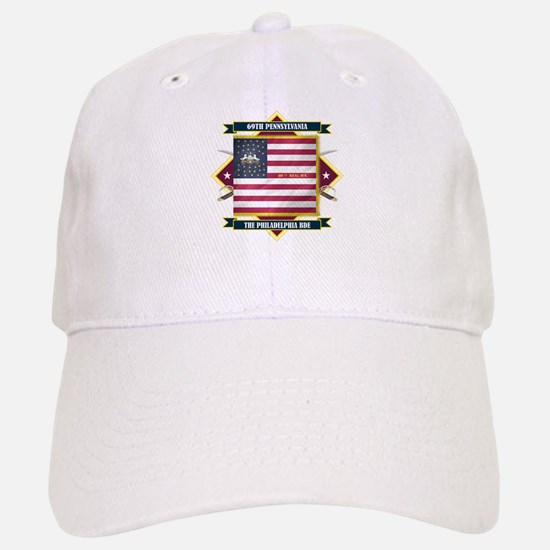 69th Pennsylvania Baseball Baseball Cap
