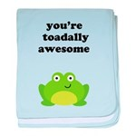You're toadally awesome baby blanket