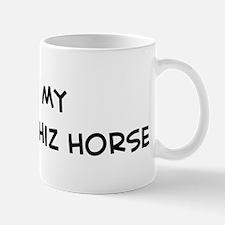 I Love Novokirghiz Horse Mug