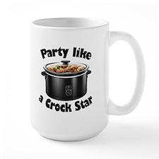 Party Like A Crock Star Mug