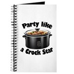 Party Like A Crock Star Journal