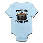 Party Like A Crock Star Infant Bodysuit