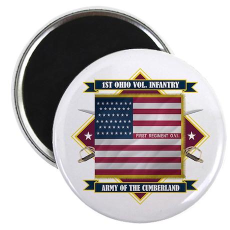 1st Ohio Volunteer Infantry Magnet