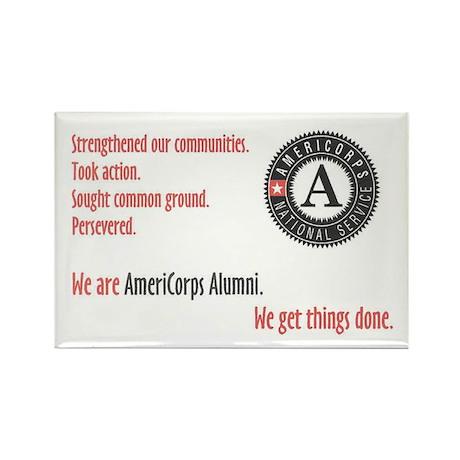 Alumni Rectangle Magnet